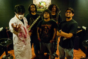 dr Hex and his band Albatross