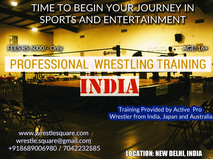 Pro Wrestling Training comes to New Delhi | Indian Pro